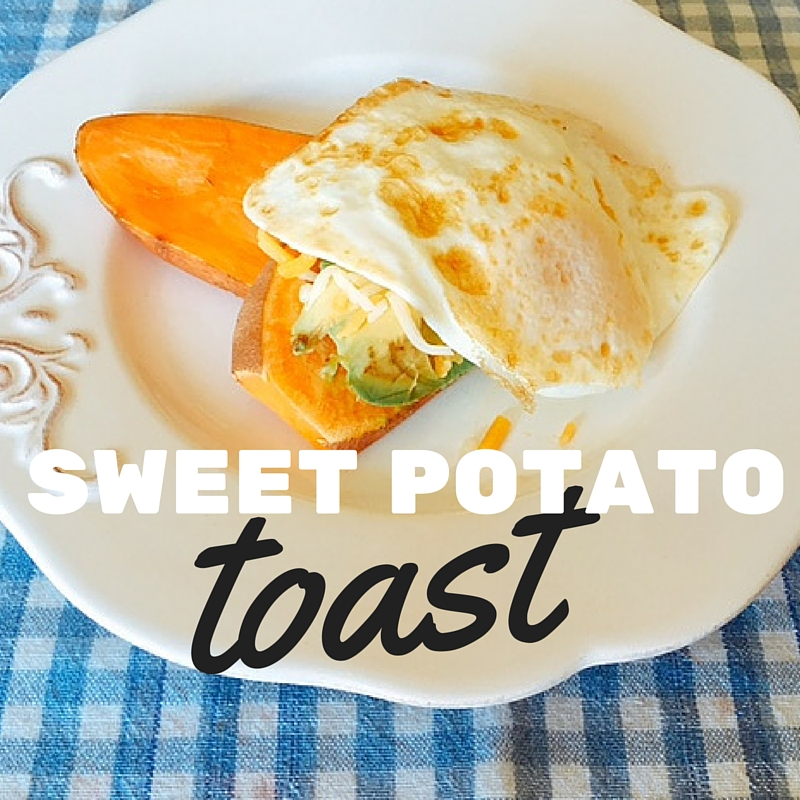 Sweet Potato Toast for Breakfast (photo)