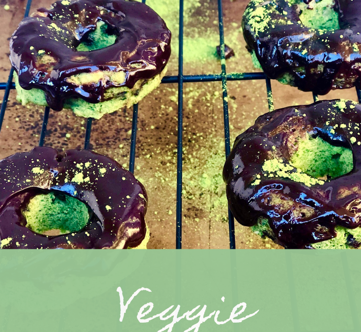 Veggie-Lovers Healthy Donuts