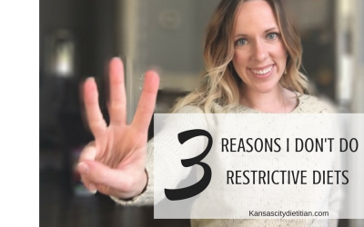 3 Reasons to Avoid Restrictive Diets