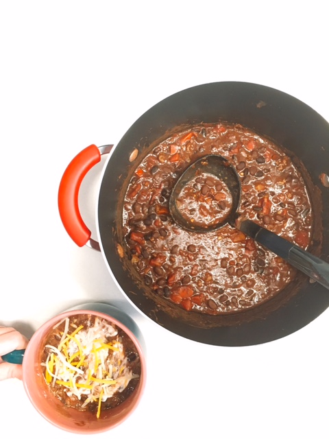 Easiest Ever Black Bean Chili