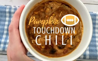 Pumpkin Touchdown Chili