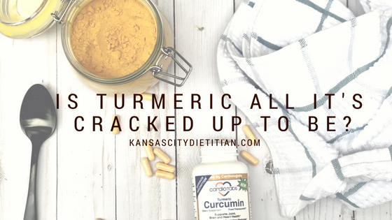 Is Turmeric all it's cracked up to be?