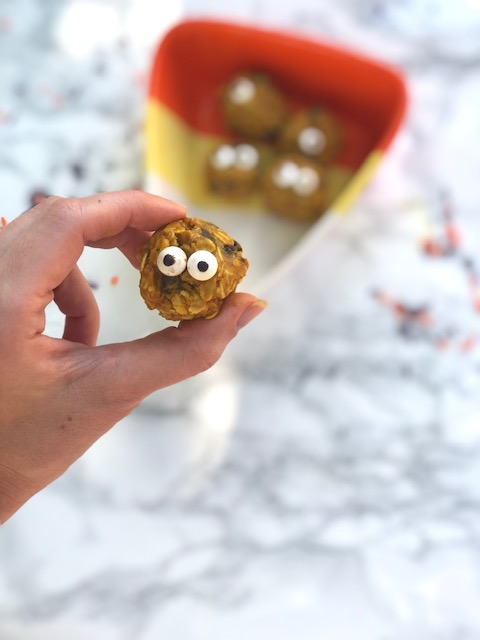 Turmeric No-Bake Monster Cookies