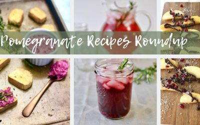 Pomegranate Recipes Roundup
